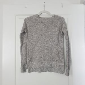 LOFT Grey Knit Sweater XXSP